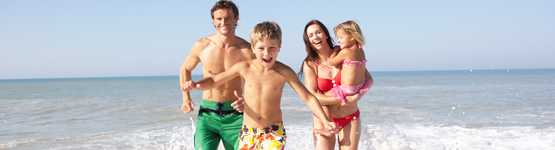 image describing Family Beach Holidays on a Budget