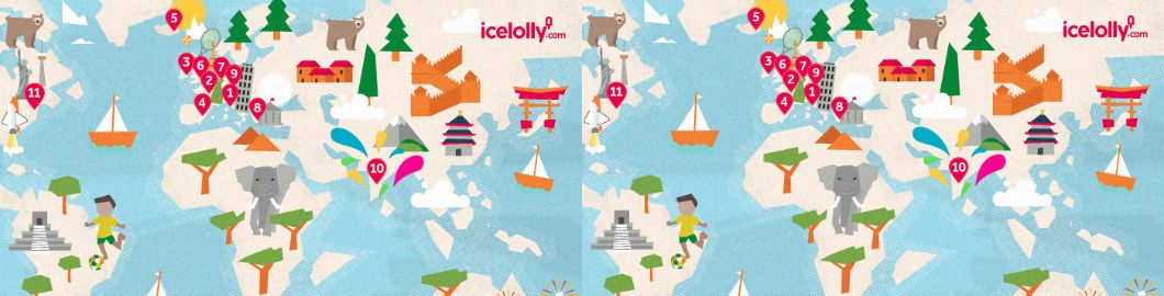 Holidays Infographic: Unmissable Celebrations Around The World