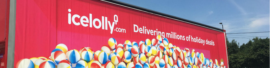 icelolly.com Hits The Road!