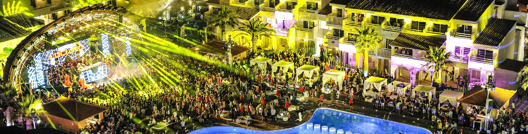 The World's Best Pool Parties