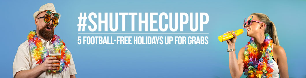 Win A Holiday With #ShutTheCupUp