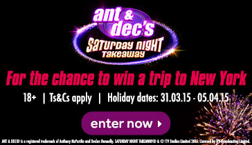 Saturday Night Takeaway New York Competition